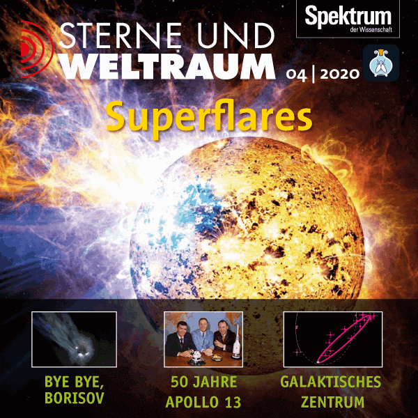 Superflares – Sterne und Weltraum