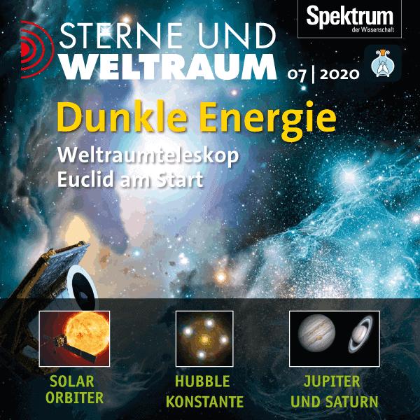 Dunkle Energie – Weltraumteleskop Euclid am Start – Sterne und Weltraum 2020/07