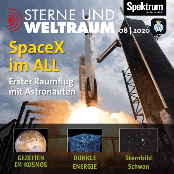 SpaceX im All – Erster Raumflug mit Astronauten – Sterne und Weltraum – Hörbuch