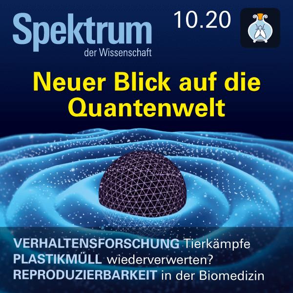 Neuer Blick auf die Quantenwelt – Spektrum der Wissenschaft 2020 10 – Hörbuch
