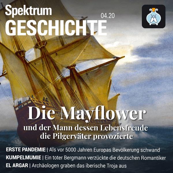 Mayflower – Spektrum der Geschichte – Hörbuch