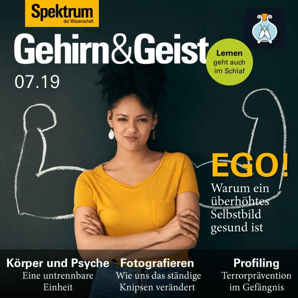 EGO! – Warum ein überhöhtes Selbstbild gesund ist – Gehirn&Geist – Hörbuch